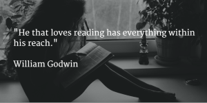 girlreadingquote