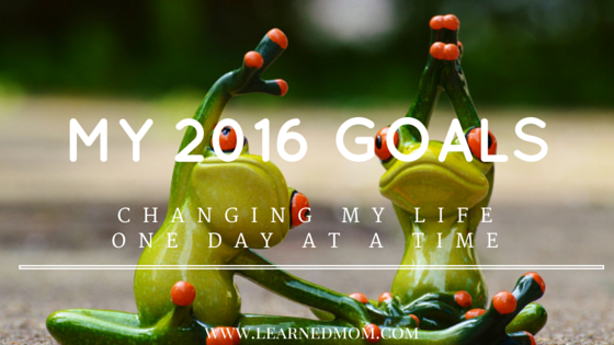 My 2016: changing my life one day at a time